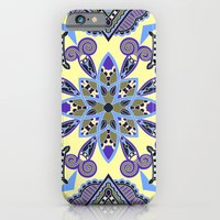 African Floral Pattern 2 iPhone 6 Slim Case