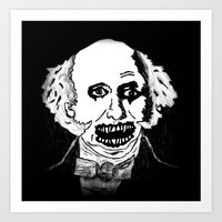 08. Zombie Martin Van Buren  Art Print