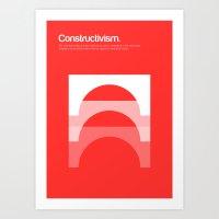 Constructivism Art Print