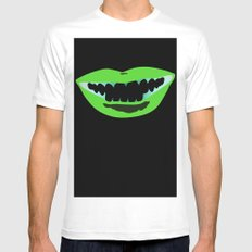 Bouche Mens Fitted Tee White SMALL