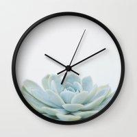 succulent 02 Wall Clock