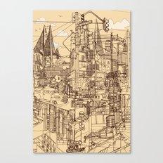 San Francisco! (Dusty) Canvas Print