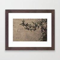 Oriental Breeze Framed Art Print