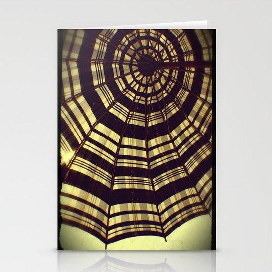 Antique Umbrella Stationery Card