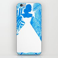 Rendezvous Blue iPhone & iPod Skin