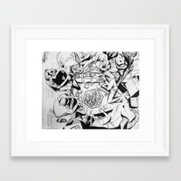 The Game of Our Generation Framed Art Print