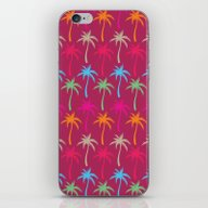 iPhone & iPod Skin featuring Palm Trees #4 by Ornaart