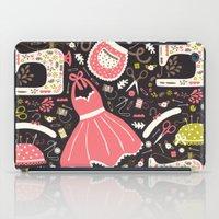 Vintage Sewing iPad Case