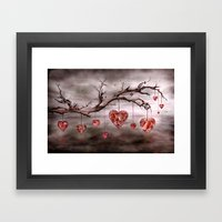 The New Love Tree Framed Art Print