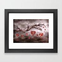 The New Love Tree Framed Art Print