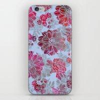 Flower Pattern Design iPhone & iPod Skin