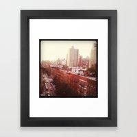 The Upper East Side (An … Framed Art Print