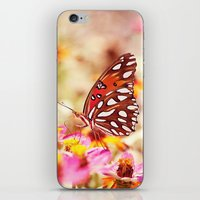Textured Butterfly iPhone & iPod Skin