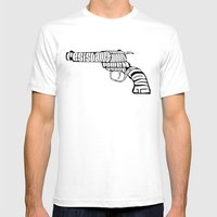 Why War? Mens Fitted Tee White SMALL
