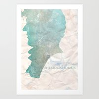 Sherlock 0.3 Art Print