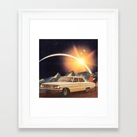 Quanto Tempo Siamo Rimas… Framed Art Print