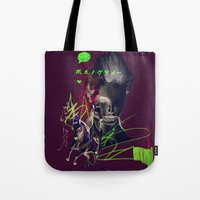 Running with horses Tote Bag