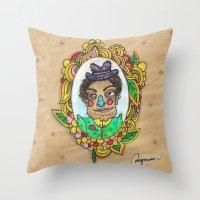 Mr. Trulala Throw Pillow
