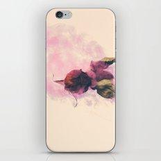 Rose And Smoke Romance iPhone & iPod Skin