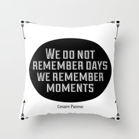 Remember Moments Throw Pillow