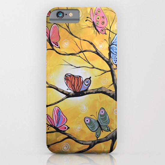 Butterfly Lights iPhone & iPod Case