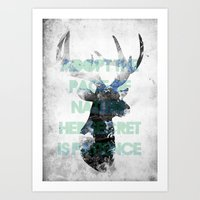 Adopt The Pace Of Nature… Art Print