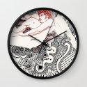 Henna Lovers Wall Clock