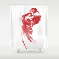 FINAL FANTASY VIII  Shower Curtain
