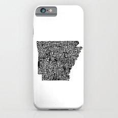 Typographic Arkansas Slim Case iPhone 6s