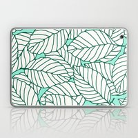 Sweet Leafs: Mint Laptop & iPad Skin