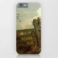 iPhone & iPod Case featuring The Corner Gate by Curt Saunier
