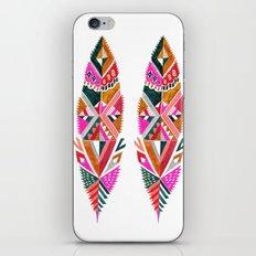 Brooklyn feathers iPhone & iPod Skin