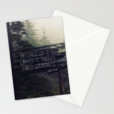 Forest Universe Stationery Cards