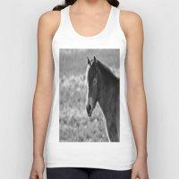 Pony on Exmoor Unisex Tank Top