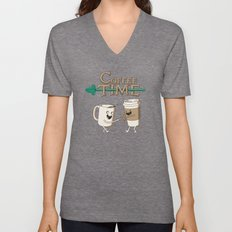 Coffee Time! Unisex V-Neck