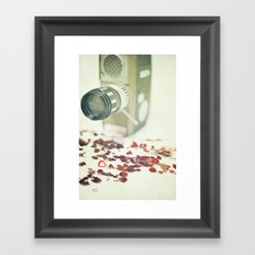 The Movie of our Love Framed Art Print