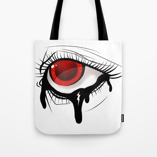 """Lightning Bolt"" by Kailyn Boehm Tote Bag"