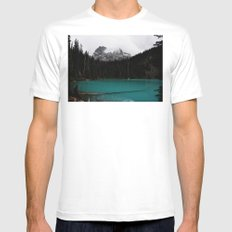 The mountains are calling Mens Fitted Tee White SMALL