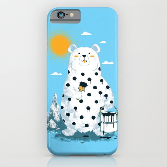 polka bear iPhone & iPod Case
