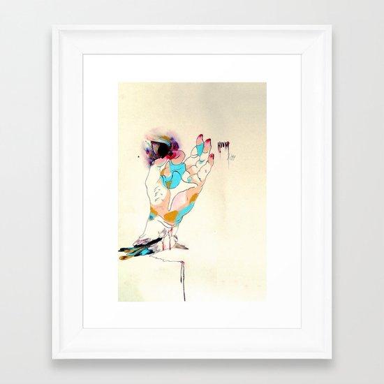 petals Framed Art Print