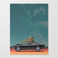 Buy the Ticket Canvas Print