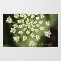 Queen Lace Flowering Hea… Rug