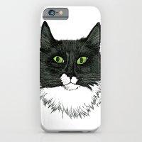 Curly Sue the Tuxedo Cat iPhone 6 Slim Case