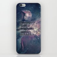 What Life Is All About - Doctor Who iPhone & iPod Skin
