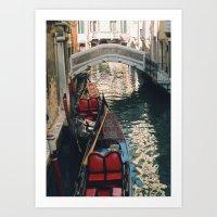 Streets Of Water Art Print