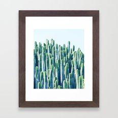 Cactus V2 #society6 #dec… Framed Art Print