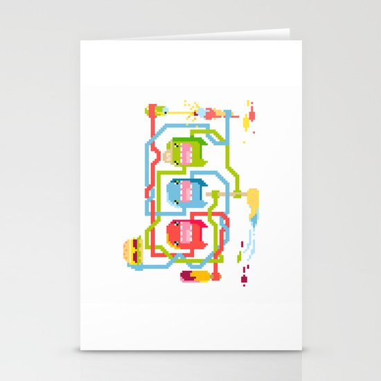 Food Stationery Card