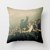 The Shot Throw Pillow