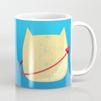 CatStronaut Emblem Mug