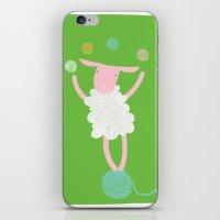 sheep playing iPhone & iPod Skin